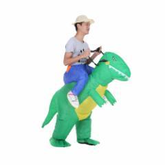 コスプレ ハロウィン 怪獣 恐竜 インフレータブル 仮装 子供 大人 ユニセックス コスチューム