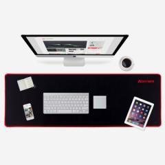 マウスパッド ゲーミング 超大型  90X30X0.4cm 広く操作 ビッグサイズ  ブラック