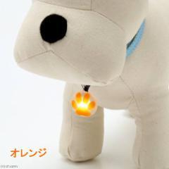 プラッツ NITE IZE ペットリットパウ オレンジ LED セーフティライト 犬 猫 夜間 散歩用 LEDライト お散歩ライ