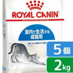 ロイヤルカナン 猫用 キャットフード 猫 インドア 成猫用 2kg×5袋 3182550704625 沖縄別途送料 ジップ付