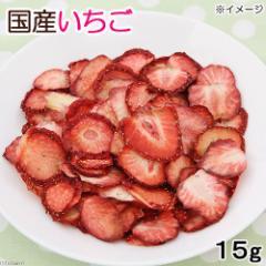 平成30年産 国産 いちご 15g 小動物用のおやつ 無添加 無着色 (ハムスター 餌)