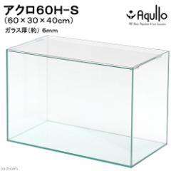 60cmハイタイプ水槽(単体)アクロ60H−S(60×30×40cm)オールガラス水槽 Aqullo アクアリウム用品