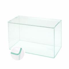 スーパークリア 前面曲げガラス水槽 アクロ60R(60×30×36cm) 60cm水槽(単体) お一人様1点限り 沖縄別途送料