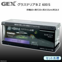 GEX グラステリアBZ 600Sセット 水槽 お一人様1点限り