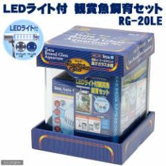 お1人様1点限り テトラ LEDライト付 観賞魚飼育水槽セット RG−20LE 初心者