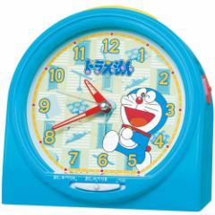 SEIKO セイコー 目覚まし時計 キャラクター ドラえもん おしゃべりアラーム アナログ 青 CQ137L【お取り寄せ】