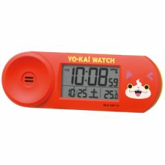 SEIKO セイコー 目覚まし時計 置き時計 キャラクター CQ154E 妖怪ウォッチ ジバニャン デジタル 大音量 おしゃれ かわいい【お取り寄せ】