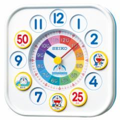 SEIKO セイコー 掛け時計 置き時計 知育 ドラえもん アナログ 白 CQ319W【お取り寄せ】【ギフト包装可】【お取り寄せ】