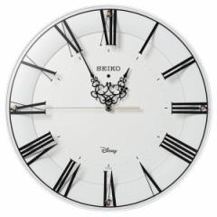 SEIKO セイコー 掛け時計 ミッキーマウス ミニーマウス 電波 アナログ 大人ディズニー 白 FS506W【お取り寄せ】
