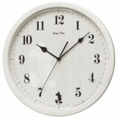 SEIKO セイコー 掛け時計 ミッキーマウス アナログ ミッキー&フレンズ Disney Time(ディズニータイム) アイボリー FW577A【お取り寄せ】