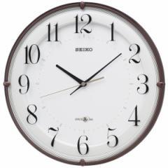 SEIKO セイコー 掛け時計 衛星電波 スペースリンク アナログ 茶メタリック GP216B【お取り寄せ】