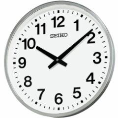 SEIKO セイコー 掛け時計 オフィス アナログ 屋外 防雨型 金属枠 KH411S【お取り寄せ】