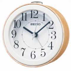 SEIKO セイコー 目覚まし時計 スタンダード 置き時計 掛け時計 壁掛け ナチュラルスタイル KR504B スイープ おしゃれ 【お取り寄せ】