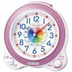SEIKO セイコー 目覚まし時計 知育 アナログ ピンク KR887P【お取り寄せ】【ギフト包装可】【お取り寄せ】