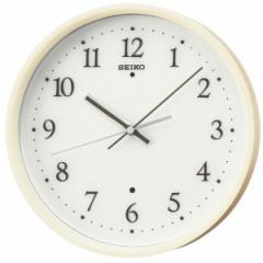 SEIKO セイコー 掛け時計 スタンダード 電波 アナログ 木枠 薄茶木地 KX207A【お取り寄せ】