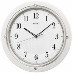 SEIKO セイコー 掛け時計 スタンダード 電波 アナログ 白パール KX217W【お取り寄せ】