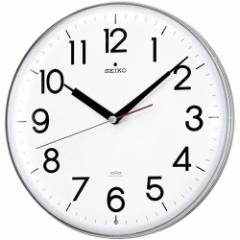 SEIKO セイコー 掛け時計 スタンダード 電波 アナログ 白 KX301H【お取り寄せ】