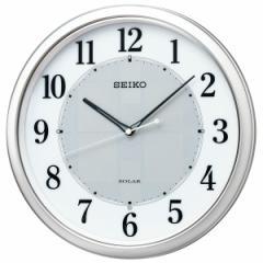 SEIKO セイコー 掛け時計 電波 ソーラー アナログ オフィス 壁掛け SF243S スイープ おしゃれ【お取り寄せ】