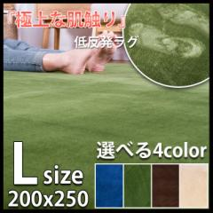 ラグ 低反発 ラグマット 厚手 極厚20mm 200×250 3畳 洗える ラグマット