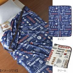 毛布 スヌーピー ビンテージ ハーフ  寝具