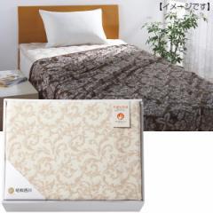 毛布 ポリジン加工 綿 毛羽部分 昭和西川  寝具