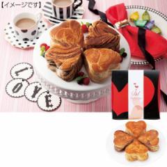 よつ葉のハートデニッシュ(メープル&チョコマーブル)お菓子