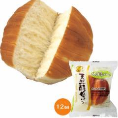 天然 酵母パン 12個 おいしさ長持ち60日 デイプラス しっとり ふっくら パン/