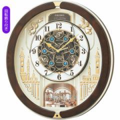 父の日ギフト プレゼント からくり時計 セイコー メロディ電波からくり掛時計(39曲入) 掛時計 時計