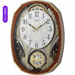 からくり時計スモールワールド メロディ電波からくり掛時計(30曲入)/4MN513RH23