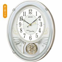 父の日ギフト プレゼント 振り子付時計 セイコー メロディ電波掛時計(18曲入) 掛時計 時計
