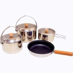 調理器具セット アウトドア用品 アウトクッカー セット フライパン 鍋