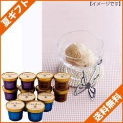 お中元 ギフト 送料無料 アイスクリーム ギフトガレー プレミアムアイスクリームセット/GL-EG12 のし可