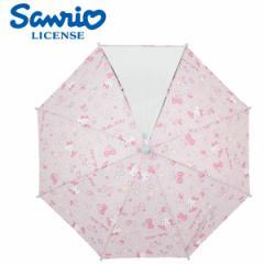 傘 キッズ 雨傘 45ハローキティディズニー キャラクター/