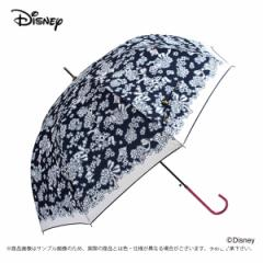 傘 レディース 雨傘 60ミニー  ラブレターディズニー キャラクター ジャンプ式/