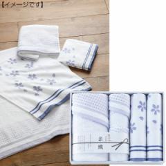 お返し泉織 バスタオル フェイスタオル セット桜 さくら/NS-1850