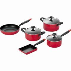 調理器具セットキッチンツール 5点セット片手鍋 両手鍋 フライパン 卵焼き/TKM-1500S