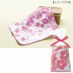 桜 さくらハンドタオル ハンカチ ノベルティ かわいい プレゼント