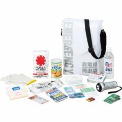 防災セット スターリングクラブ 備蓄 非常持出袋 非常食 給水バッグ アルミシート