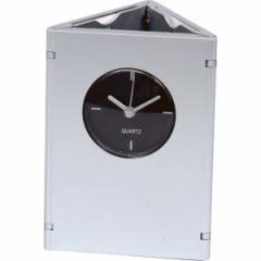 ペン&フォト スタンドクロック フォトフレーム 時計 置時計 ペンスタンド