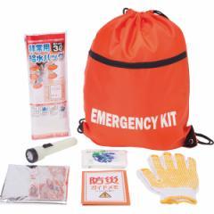 防災緊急防災7点セット非常用 給水バッグ 非常持出袋 アルミ温熱シート