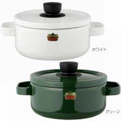 琺瑯器物 Honey Ware ソリッド 20cmキャセロール 鍋 両手鍋