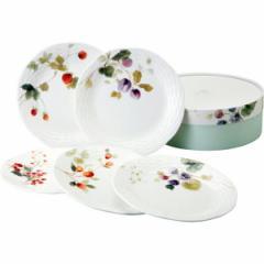 洋陶器 ナルミ ルーシーガーデン アソートプレート5枚セット/96010-21901P