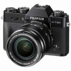 富士フイルム FX-T20LK-B ミラーレス一眼カメラ「FUJIFILM X-T20」 レンズキット (ブラック)