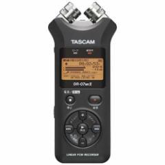 TASCAM(タスカム) DR07MK2JJ 【ハイレゾ音源対応】 リニアPCMレコーダー