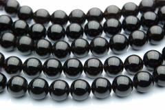 黒水晶(モリオン)AA 8mm 1連(約38cm)_R151/A7-6