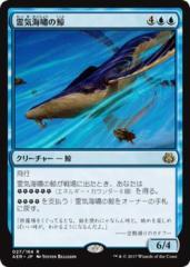 マジック:ザ・ギャザリング(MTG) 霊気海嘯の鯨(レア) / 霊気紛争(日本語版)シングルカード AER-027-R