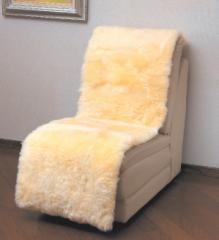 【送料無料!ポイント2%】長毛タイプでふんわり暖か!ムートン椅子カバー 3サイズ