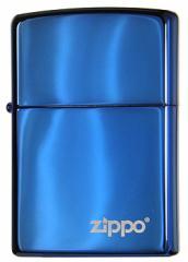 【ZIPPO】ブルーサファイアジッポー ロゴ入り 20446ZL【ヤマトメール便250円対応】