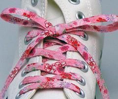 メール便 和柄靴ひも 柄多数ちりめん靴紐ロング おしゃれなメンズレディーススニーカーくつひも クツヒモ 日本製シューレース(色181L)