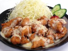 九州名物・チキン南蛮セット☆若鶏とり天用むね肉[4袋]+南蛮たれ&タルタルソース[各1本]【送料無料*一部地域を除く】